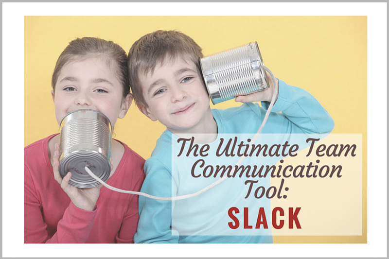 Slack For Team Communication